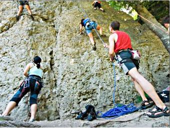Kletterausrüstung Dav : Ausbildung touren